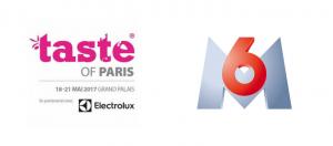 logo M6 et taste of paris