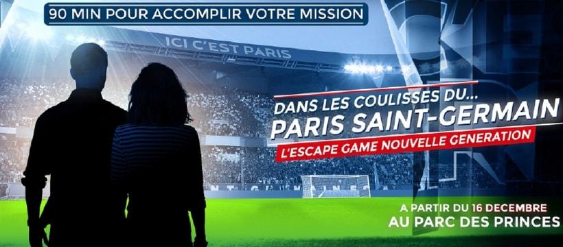 escape game du PSG