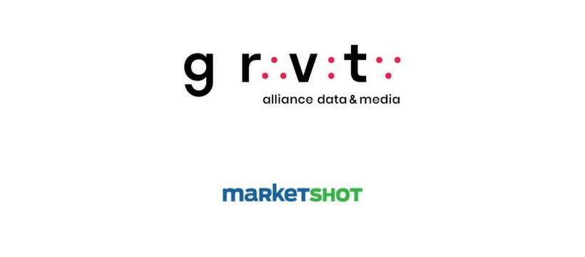 Logos de Gravity et Marketshot