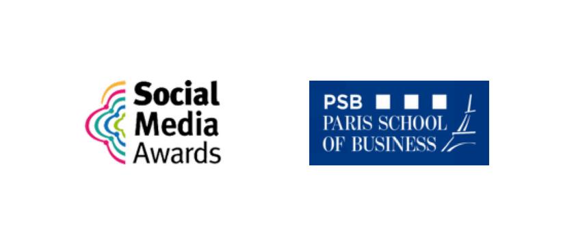 social media awards et PSB logos