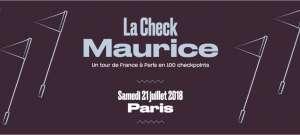 affiche de la course Check Maurice