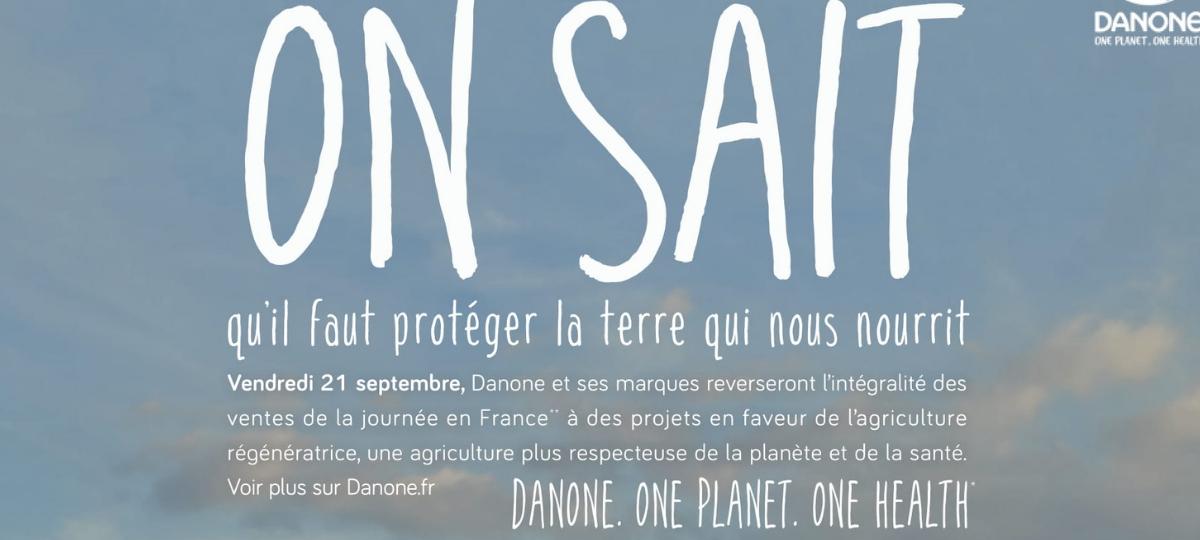 La nouvelle campagne Danone revient sur les engagements de la marque