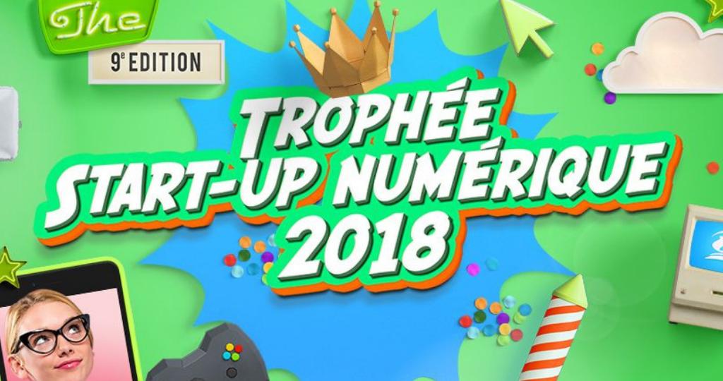 Logo du Le Trophée Start-Up Numérique 2018