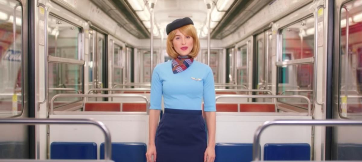 Hotesse de métro