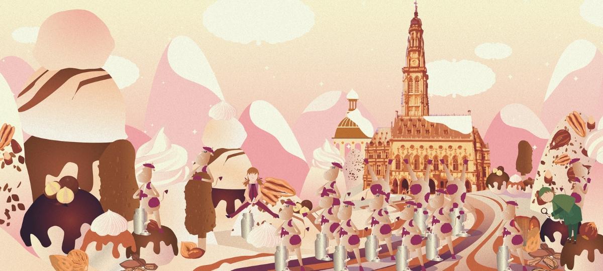 Illustration Haagen-Dasz
