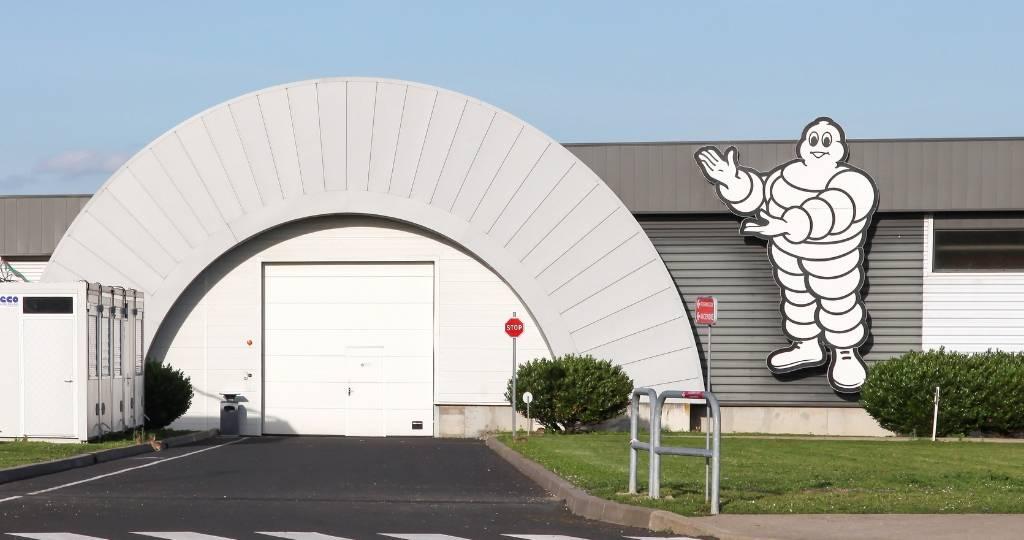 Une usine Michelin