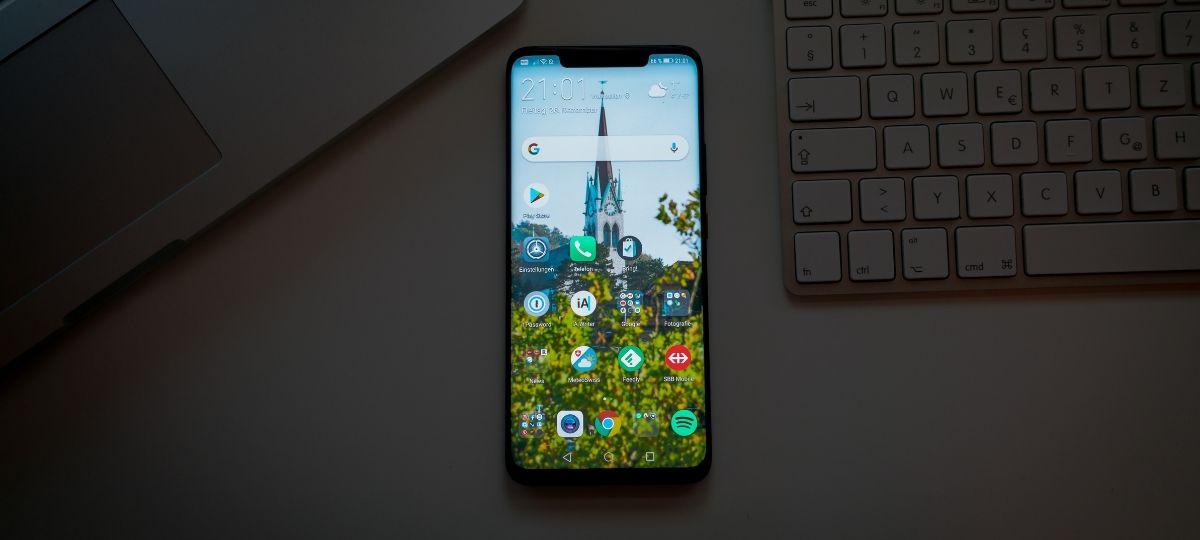 Un modèle de smartphone Huawei