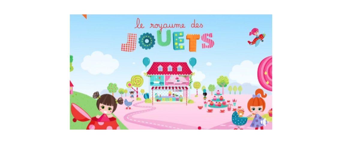 Capture d'écran du dessin animé au Royaume des jouets