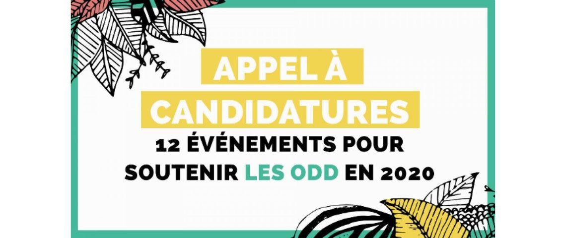 Logo la cité fertile avec l'inscription Appel à candidatures