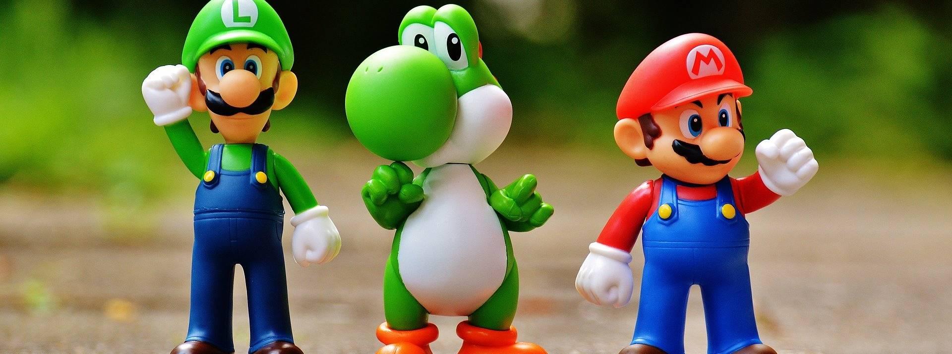 Visue ldu jeu Mario