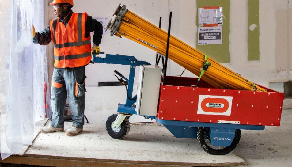 Remorque pour vélo K-Ryole « intelligente » et autonome en énergie