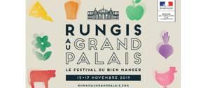 Affiche du Festival Bien Manger qui aura lieu au Grand Palais