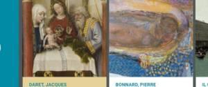 2 oeuvres d'arts l'une de Jacques Darts et l'autre de Pierre Bonnard