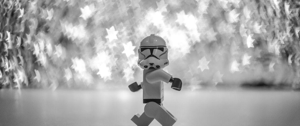 Stormtrooper en lego