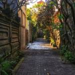 Une rue vide
