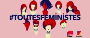 Logo de la journée #toutesfeministes