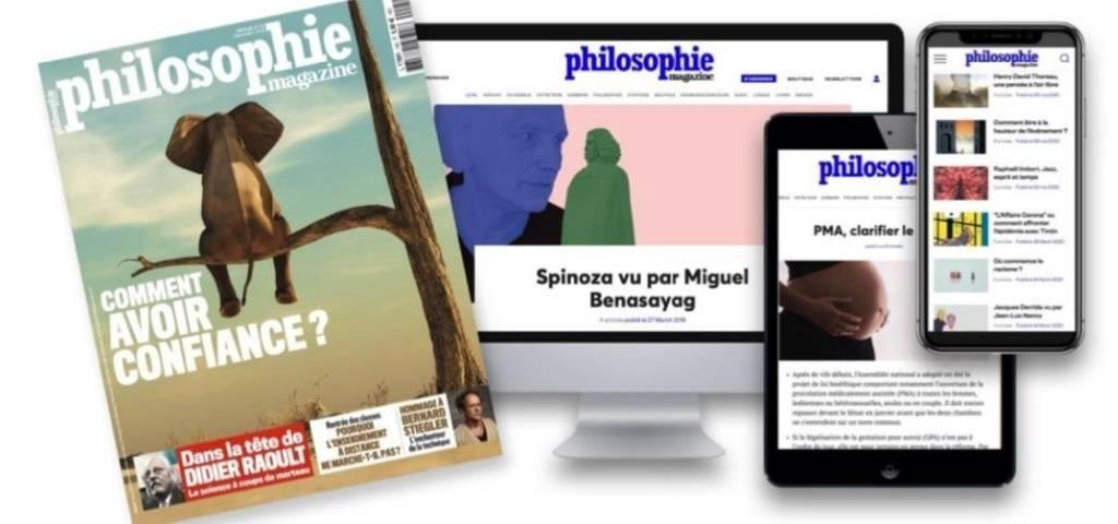Philosophie Magazine lance un nouveau site autour d'un concept:  le  «réflexe socratique»