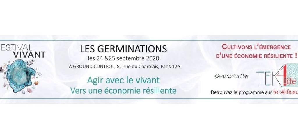 LES GERMINATIONS:   «Agir avec le vivant pour une économie résiliente»