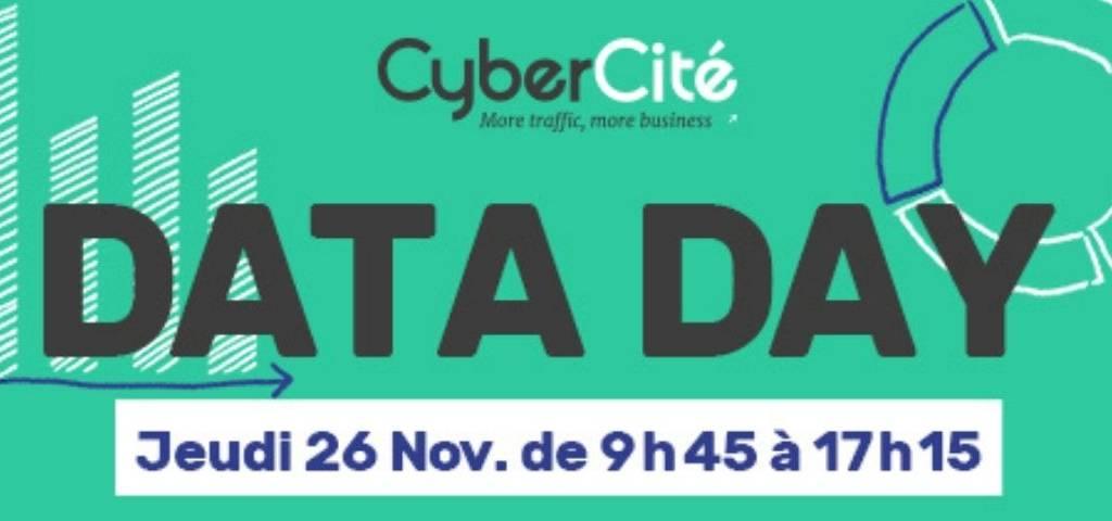 Data Day:  CyberCité organise une journée complète de webinars dédiée à la data