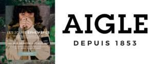 Logo du partenariat Merci Raymond et Aigle