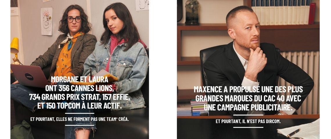 Photos de juristes de la publicité