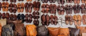 Chaussures et sacs à main en cuir