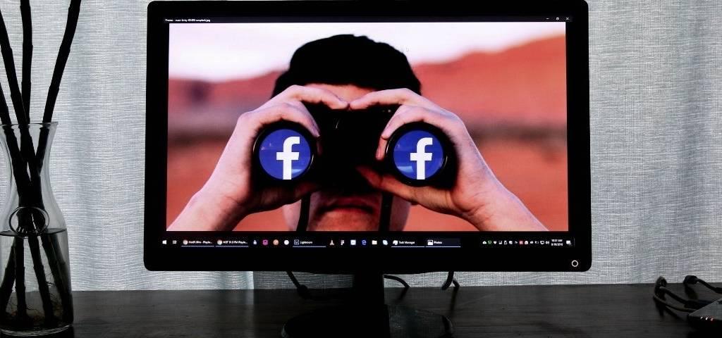 Facebook sur un ordinateur