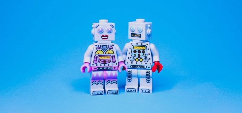 Deux bonhommes lego