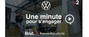 """Logo du programme """"Une minute pour s'engager"""""""