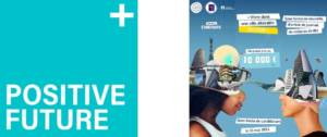 Logo concours Positive Future « La ville en 2100 »
