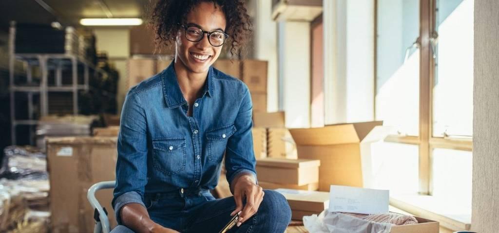 Une femme entrepreneure