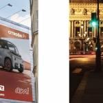 Affiches de la campagne Citroen Ami
