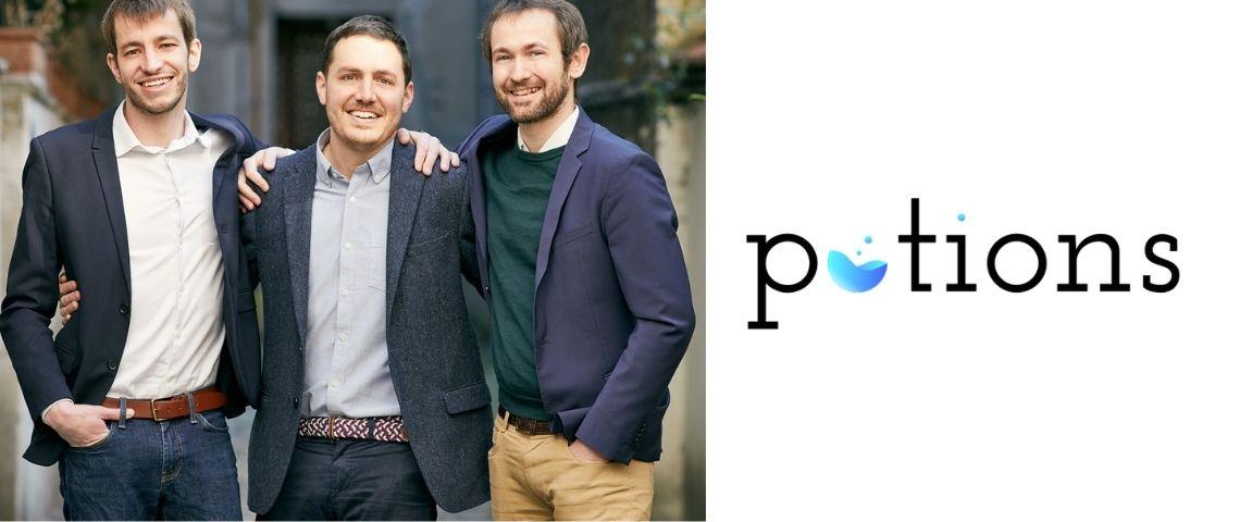 Equipe de la start-up Potions