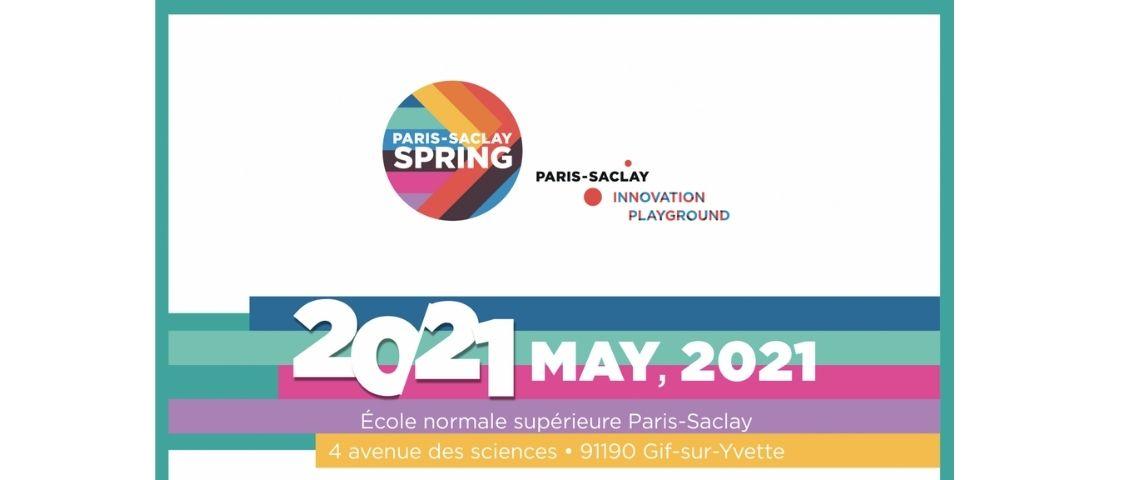 Logo Paris-Saclay SPRING