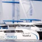Photo du voilier géant Manta