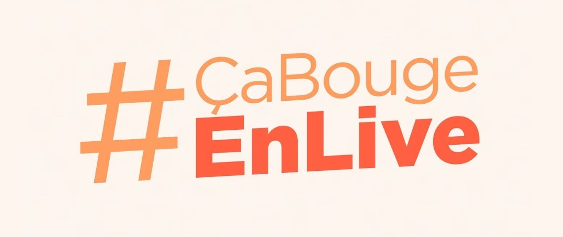 Logo #CaBougeEnLive