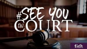 Affiche de la campagne See you court