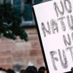 Pancarte ; No nature, no future