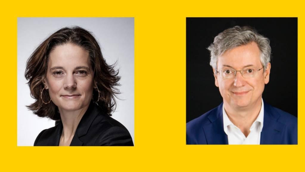 Coralie Savin et Nicolas Bordas