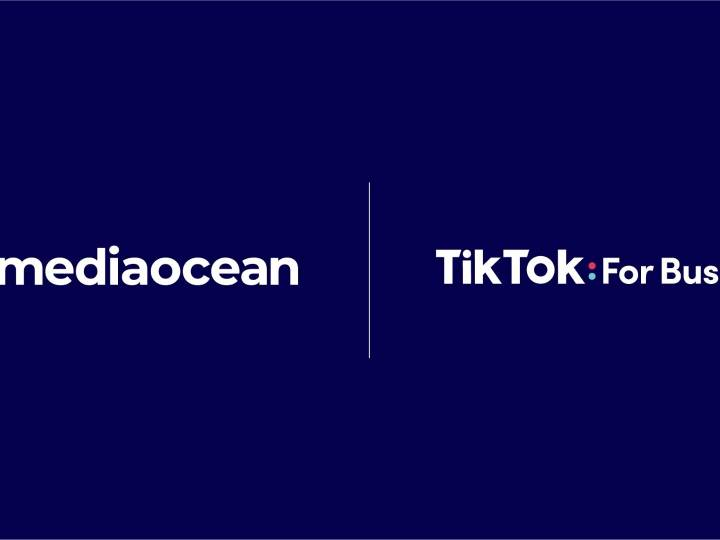 Logo Médiaocean et Tiktok
