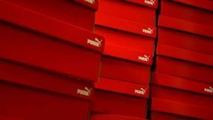 Boites à chaussures rouges