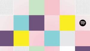 carré de couleurs roses, bleux, verts, violets et jaunes