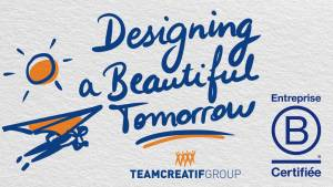 Message : « Designing a beautiful tomorrow »