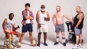 Hommes de différentes nationalités et de différents styles
