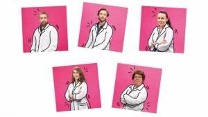 5 chercheurs