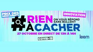 Logo #RienACacher
